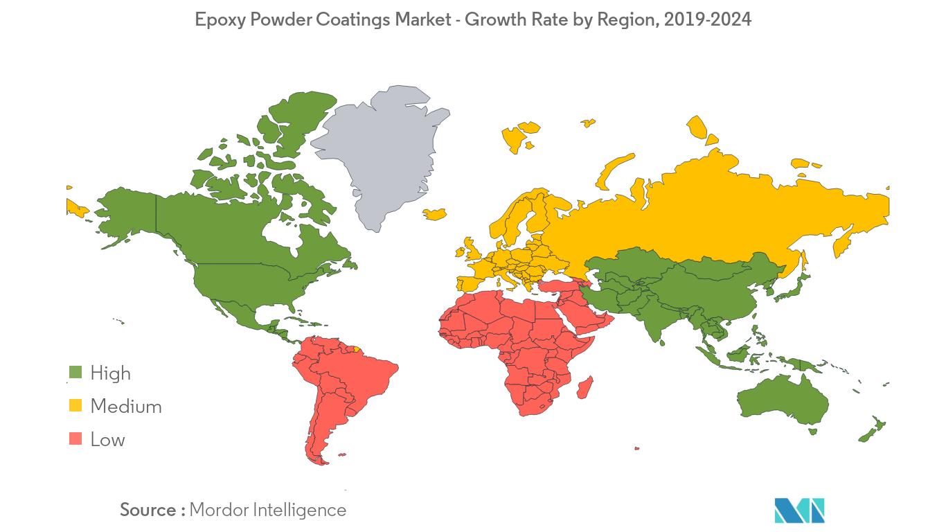 Epoxy Powder Coatings Market - Regional trends