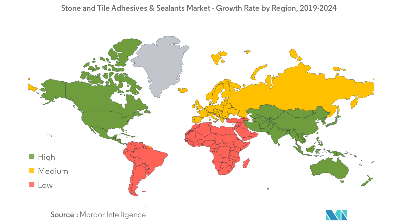 Stone and Tile Adhesives & Sealants Market Regional Trends